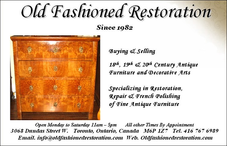 OLD FASHIONED RESTORATION