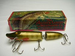 Antique67 for Vintage fishing lure identification
